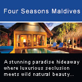 Situated in the undeveloped Baa Atoll, 120 km north of Male, the island is a stunning paradise hideaway where luxurious seclusion meets wild natural beauty. The resort comprises 102 thatched beach bungalows and water villas. The bungalows and villas which are built on traditional Maldivian architectural principles with its 45 degree pitched thatched roofs and coral walls offer an abundance of indoor and outdoor living space. Each residential domain is in its own self-contained compound surrounded by luxuriant foliage guaranteeing total privacy. The entry level of bungalows is the Beach Bungalow which comprises a plunge pool, living and dining pavilion that opening onto a private beachfront garden, a sleeping pavilion and an extensive bathroom with an over-flowing bath and a traditional outdoor Maldivian shower. The highlight of the spacious Beach Villa is a 12 metre lap pool coupled with an adjacent sand-floor outdoor living and dining pavilion and a private loft for sea viewing